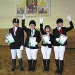 Новгородцы завоевали восемь медалей Специальной Олимпиады по конному спорту