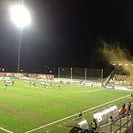 «Тосно» оштрафовали за распыление краски фанатами на игре в Великом Новгороде