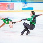 Любители фигурного катания в эти выходные могут понаблюдать за соревнованиями юных спортсменов на Ледовой арене