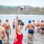 Новгородские моржи отпраздновали День народного единства в ледяной воде