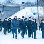 В Великом Новгороде побывал экипаж подводной лодки, названной в честь нашего города