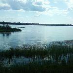 База отдыха отгородила забором часть озера на Валдае