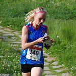 Анастасия Рудная выиграла марафон на чемпионате России по спортивному ориентированию