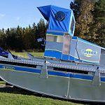 Новгородская область приобрела самоходную машину для расчистки водоёмов