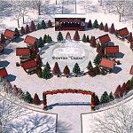 У фонтана «Садко» в Кремлевском парке раскинется европейская Рождественская ярмарка