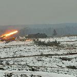 На Лужском полигоне прошли боевые стрельбы ракетчиков
