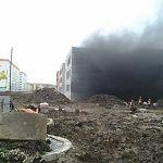 В строящейся школе в Великом Новгороде произошло задымление