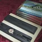Сын Алексея Маресьева подарил новгородской школе часы лётчика