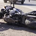 В Новгородском районе падение обернулось для мотоциклиста госпитализацией