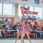 Новгородские акробатки завоевали серебро и золото на юниорском первенстве страны
