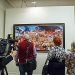 В Великом Новгороде открылась выставка Ильи Глазунова