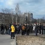 Сегодня в Великом Новгороде состоялся 8-й митинг «в защиту озера Ильмень»