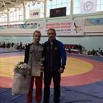Новгородка завоевала на первенстве России по вольной борьбе бронзу и титул «Мисс турнира»