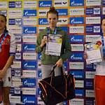Новгородка завоевала серебро юниорского первенства России по плаванию