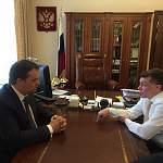 Министр посоветовал новгородскому врио губернатора активнее бороться с неофициальным трудоустройством