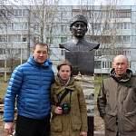 В Старой Руссе установили бюст национальному герою Казахстана