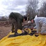 В Новгородской области нашли могилу офицеров