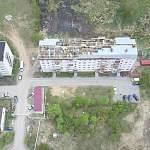 На пострадавшем от пожара доме в Панковке завершились аварийно-восстановительные работы
