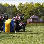 В Панковке прошли областные соревнования по спортивному пейнтболу