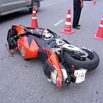 ДТП в Окуловке с участием мотоциклиста