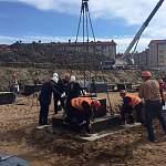 Сегодня врио губернатора Никитин заложил первый камень в фундамент новой школы на Белорусской