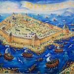 «Русские крепости от Рюрика до Петра Великого»: живопись в идеологическом ключе