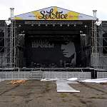 Фотофакт: К рок-фестивалю «КИНОпробы» всё готово