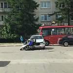 На Псковской произошло ДТП с участием мотоциклиста
