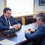 Андрей Никитин провёл сегодня встречу с председателем правления «Внешэкономбанка»