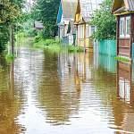 Посёлок Крестцы также оказался в зоне подтопления