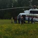Врио губернатора области на вертолёте прилетел в Неболчи