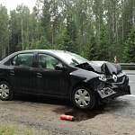 В результате столкновения на трассе М-10 пострадала трёхлетняя девочка