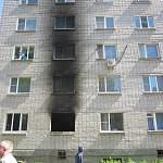 Люди, проживающие в сгоревшем доме, привели власти в замешательство