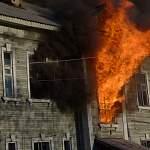 В Хвойнинском районе квартира сгорела дотла