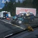 На трассе М10 произошло ДТП (информация обновлена)