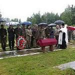 Погибшие воины обрели покой