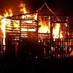 В Боровичах на пожаре погиб мужчина