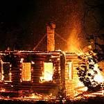 В Крестецком районе на пожаре погибла женщина