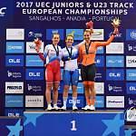 Новгородская велосипедистка стала четырехкратным призером на первенстве Европы