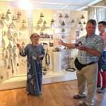 Американские братья по колокольчикам. Валдайский музей посетила делегация из Canyon City