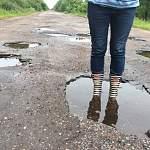 Жительница Санкт-Петербурга сражается за Новгородские дороги