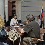 Фабричный и Дронов обсуждают возможность передачи дороги от Крестец до Окуловки в федеральную собственность