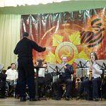 Духовой оркестр колледжа выступил в посёлке Батецкий