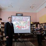 Торжественная передача  книг в фонд Старорусской Центральной библиотеки
