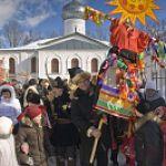 Фольклорный праздник для туристов «Новгородская масленица»