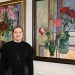 Выставка Светланы Акифьевой «Цветы в мастерской художника» в НовГУ.
