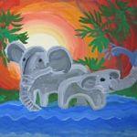 Выставка творческих работ Ульяны Степанниковой в проекте