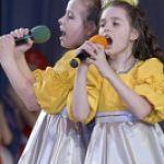 Гала-концерт городского фестиваля дошколят