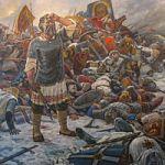 «Зал воинской славы» украсила  картина московского художника Сергея Семеновича Рубцова
