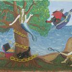 Выставка Марии  Матвеевой  в рамках проекта «Мой первый вернисаж»